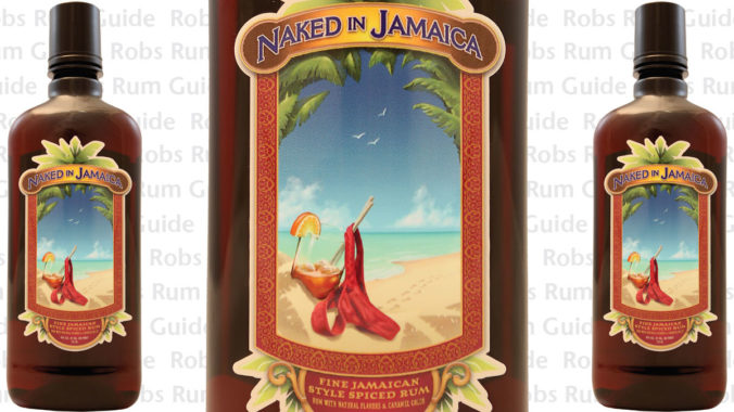 Naked In Jamaica dark rum