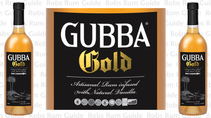 Gubba Gold Rum from Colorado