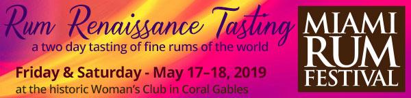 Miami Rum Festival - Rum Renaissance Tasting in Coral Gables