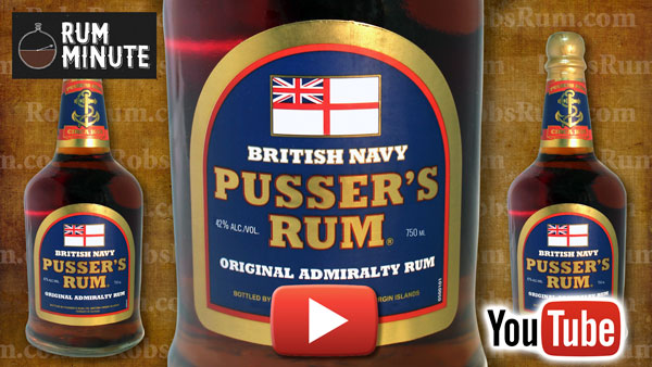 Celebrate Black Tot Day at the end of July with Pusser's Navy Rum