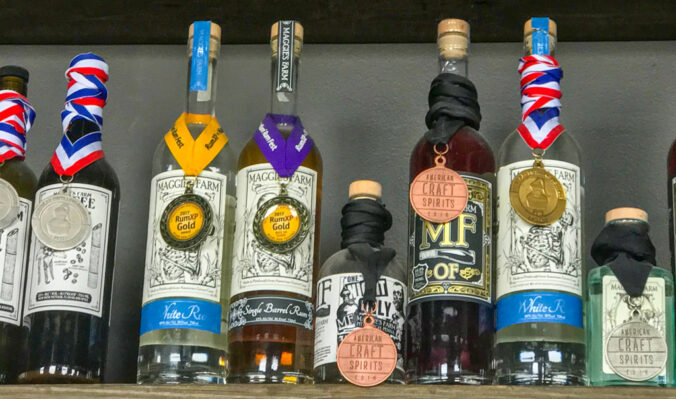 Maggie's Farm Rum awards