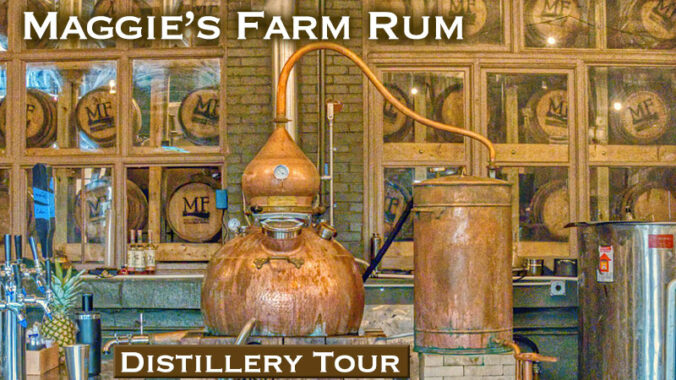Maggie's Farm Rum Distillery Tour