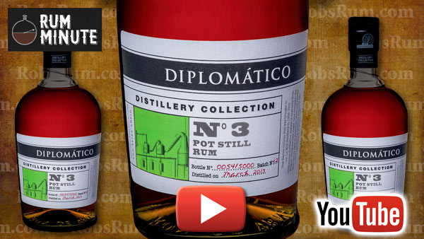 Diplomático Distillery Collection Number 3 Pot Still Rum