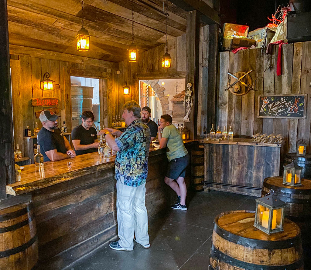 Tasting Room Bar at Tampa Bay Rum Company