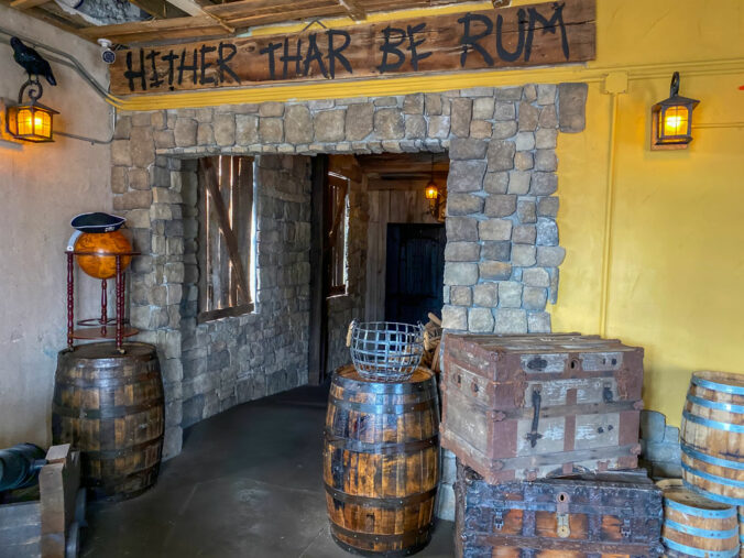 entrance to Tampa Bay Rum Company Tasting Rom