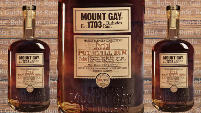 Mount Gay Master Blender Collection Pot Still Rum