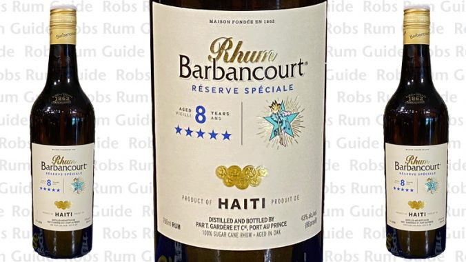 Rhum Barbancourt Five Star aged rhum from Haiti