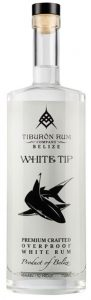 Tiburon White Tip Overproof Rum from Belize