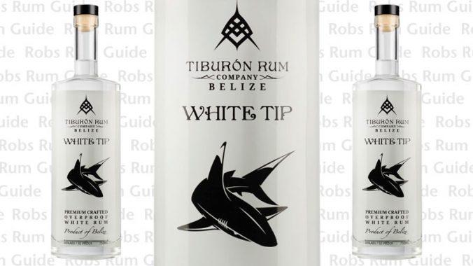 Tiburon White Tip Overproof Rum from Belize