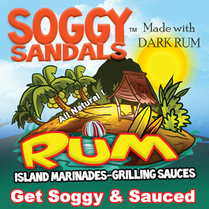 Soggy Sandals Rum Marinades and Grilling Sauces